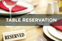 table-reservation